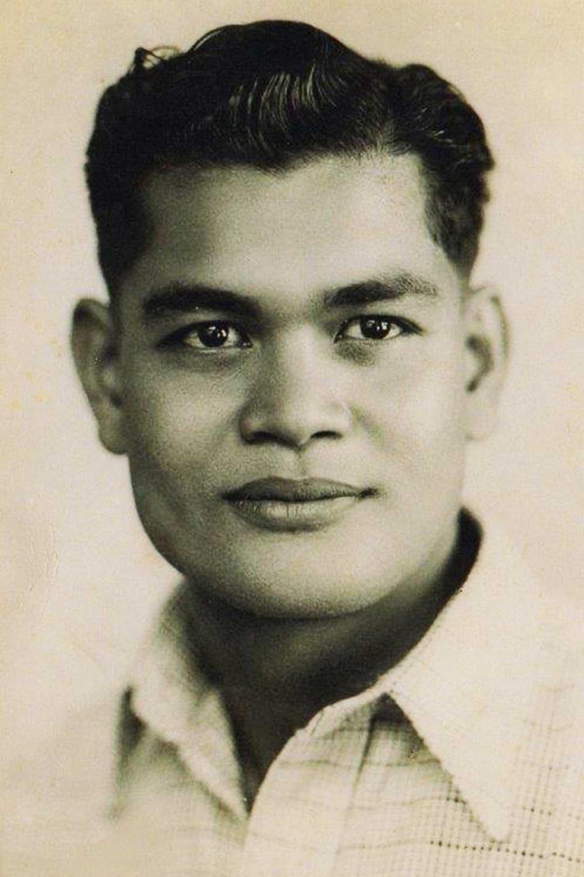 Portrait of April's father, Austin.