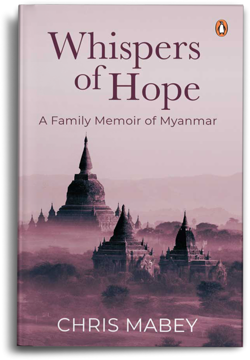 Whispers of Hope by Chris Mabey book cover