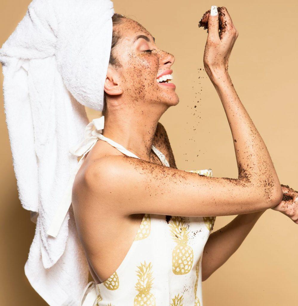 Grounded Body coffee scrub for skin