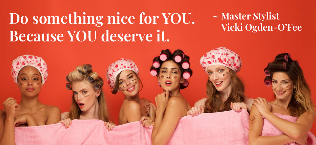 Vicki Quote Do something nice for you. Because you deserve it
