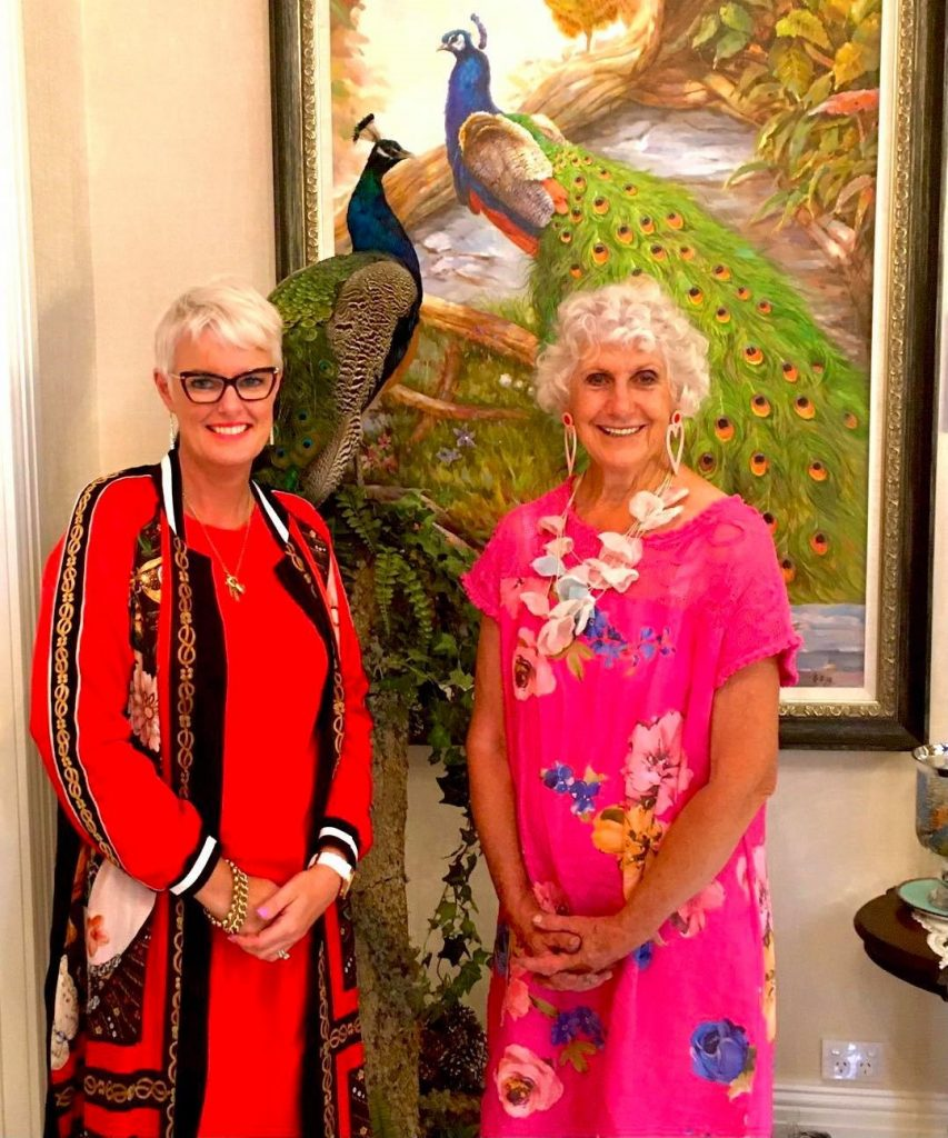 Vicki-and-Dot-the-owner-of-Riverstone-Castl
