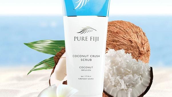 Pure Fiji coconut crush scrub