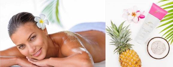 Pure Fiji body scrub relaxation exfoliation