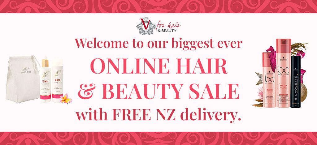 V for Hair Beauty Easter Online Sale
