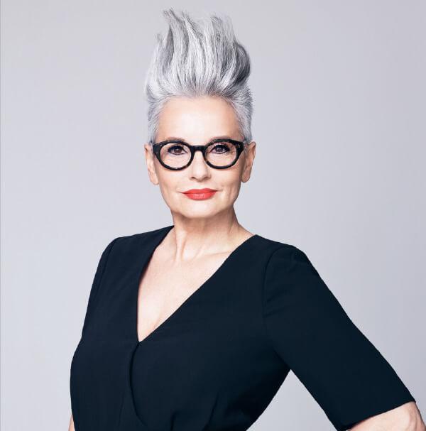Going Grey Gracefully - V for Hair, Merivale, Christchurch