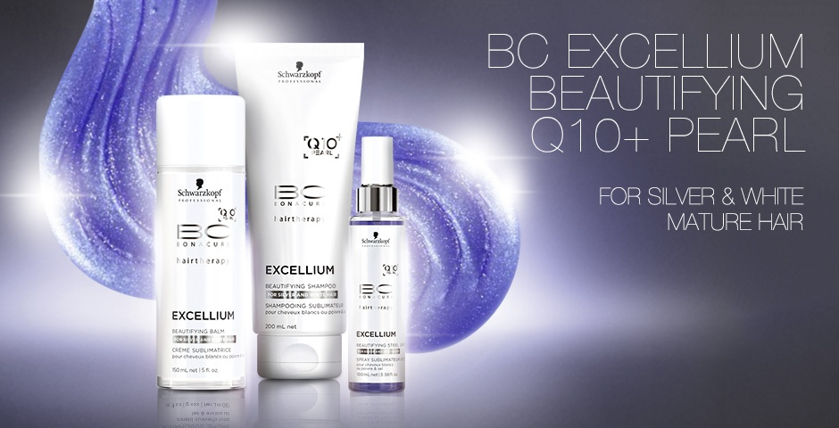 BC Excellium Beautifying for Silver/white hair