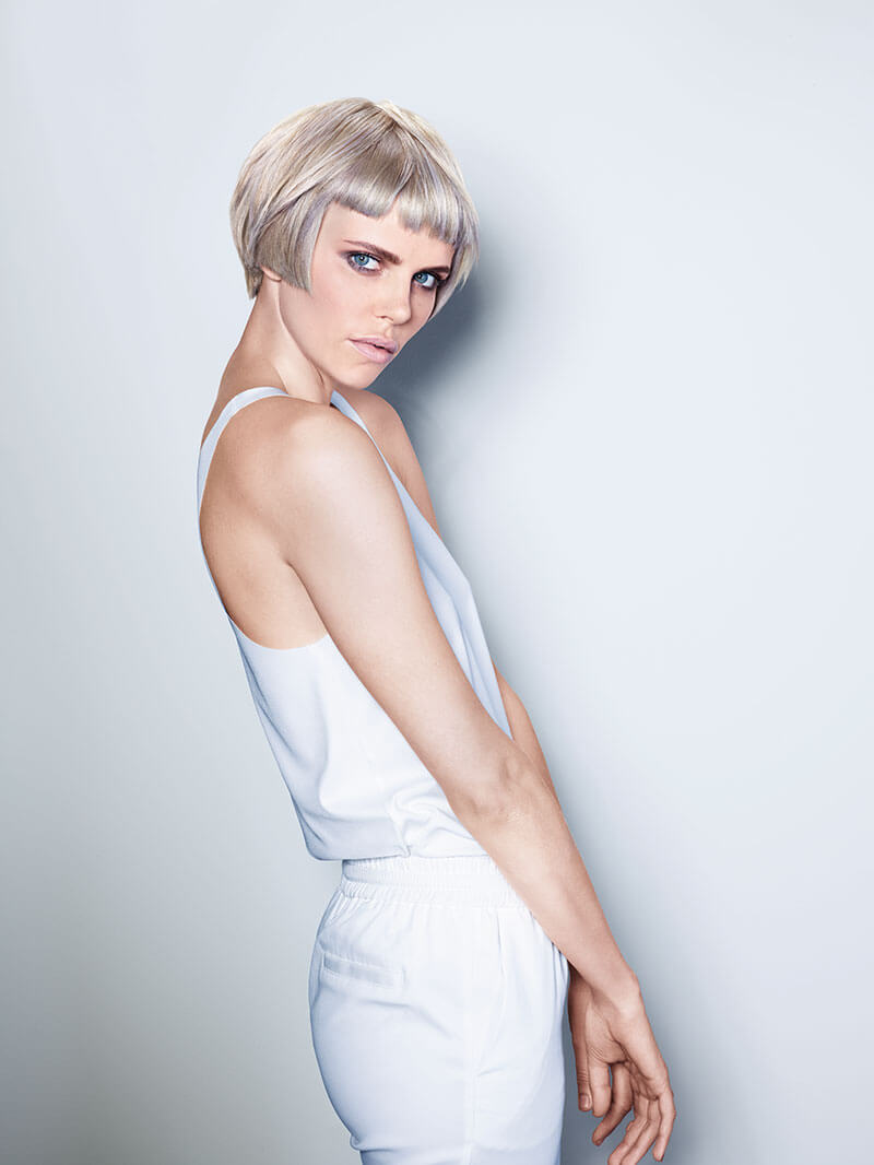 """Soft toned violet hues in """"Pixie Bob Style"""""""