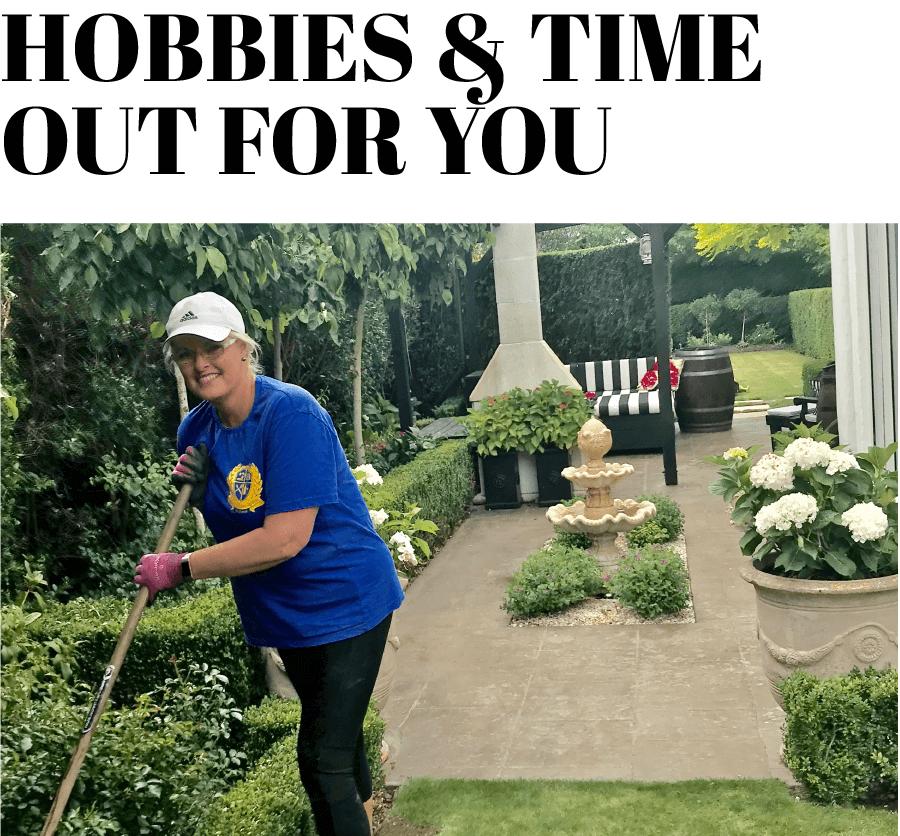 Hobbies in the garden