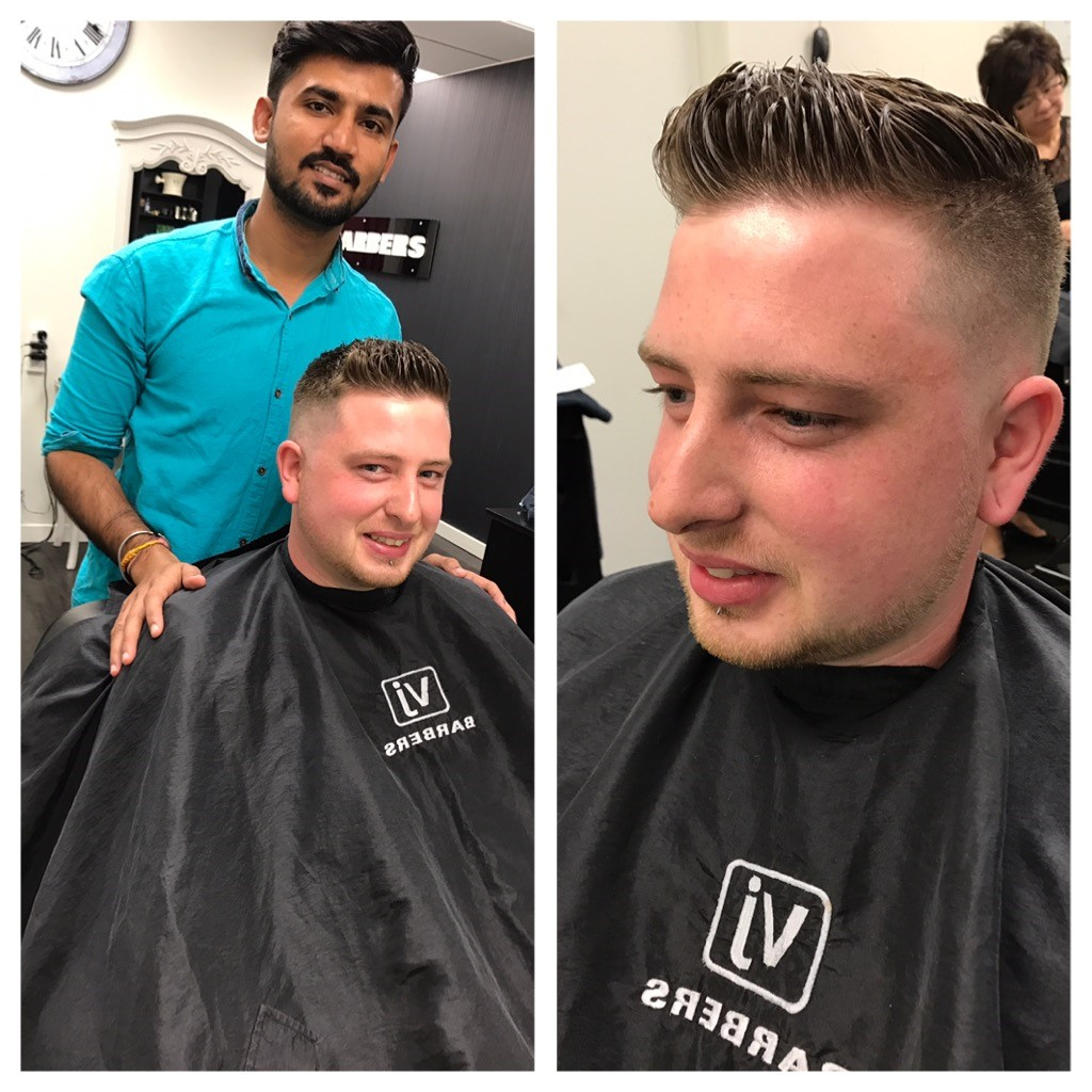 Gokul Client with Sesser hair cut