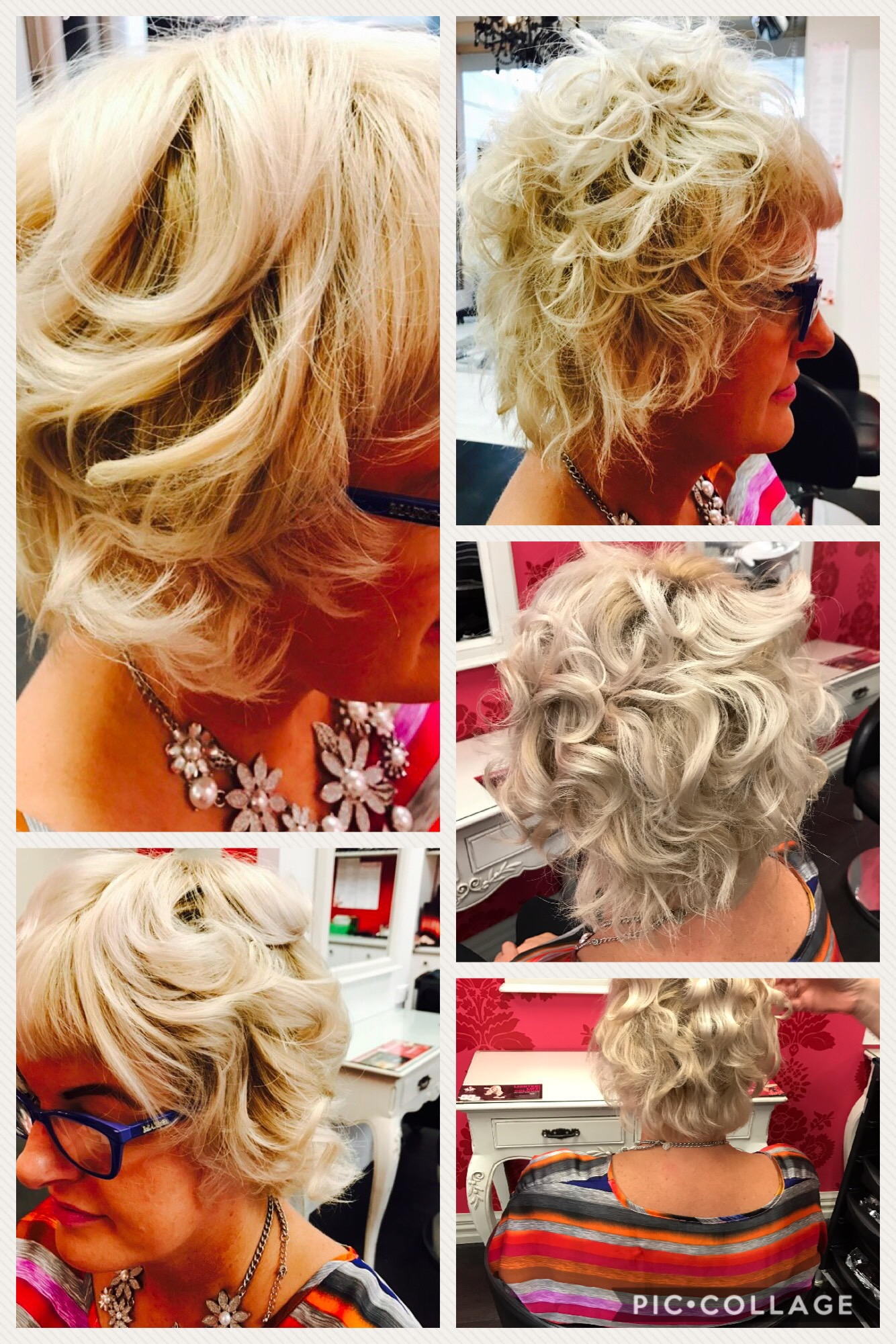 Curls creating style options