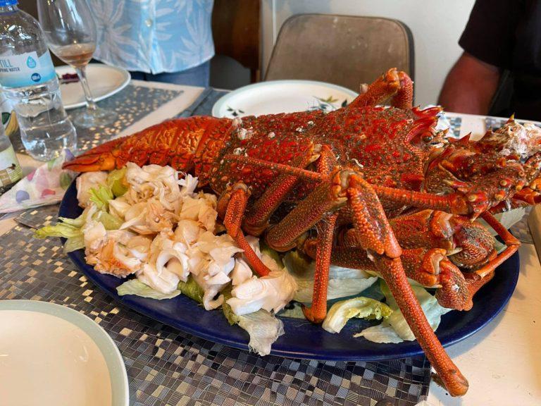 Crayfish in dinner
