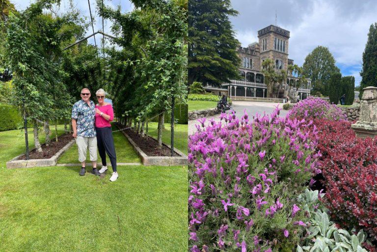 Larnach castle and beautiful garden
