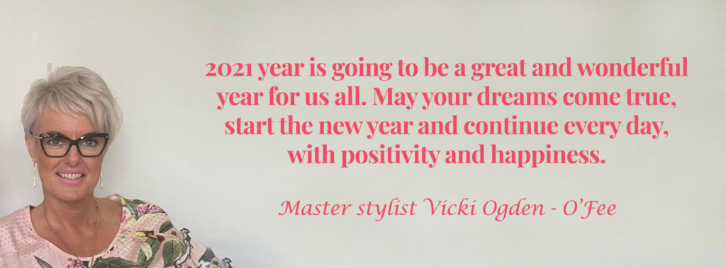 Vicki quote for coming new year with happiness and positive thoughts