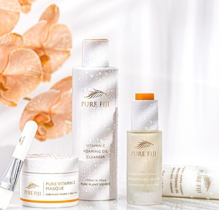 Pure Fiji Vitamin C, Pure Fiji masque, Pure Fiji oil, Pure Fiji serum