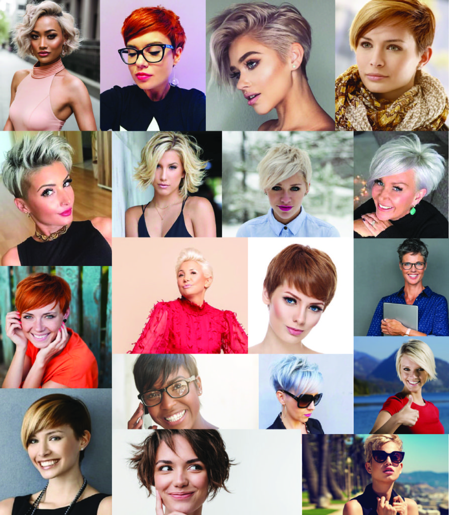 Coloured and Inspirational Short Haircut Style Looks