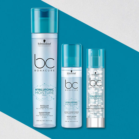 Schwarzkopf bc Moisture Hair Care Range Products