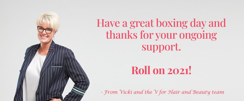V for hair Vicki quote for Big Boxing Day Sale