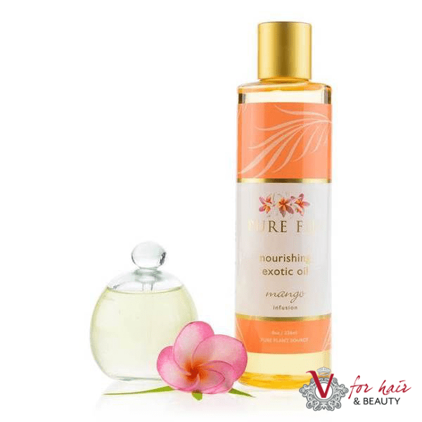 V for hair and Beauty Pure Fiji Mango Exotic Oil
