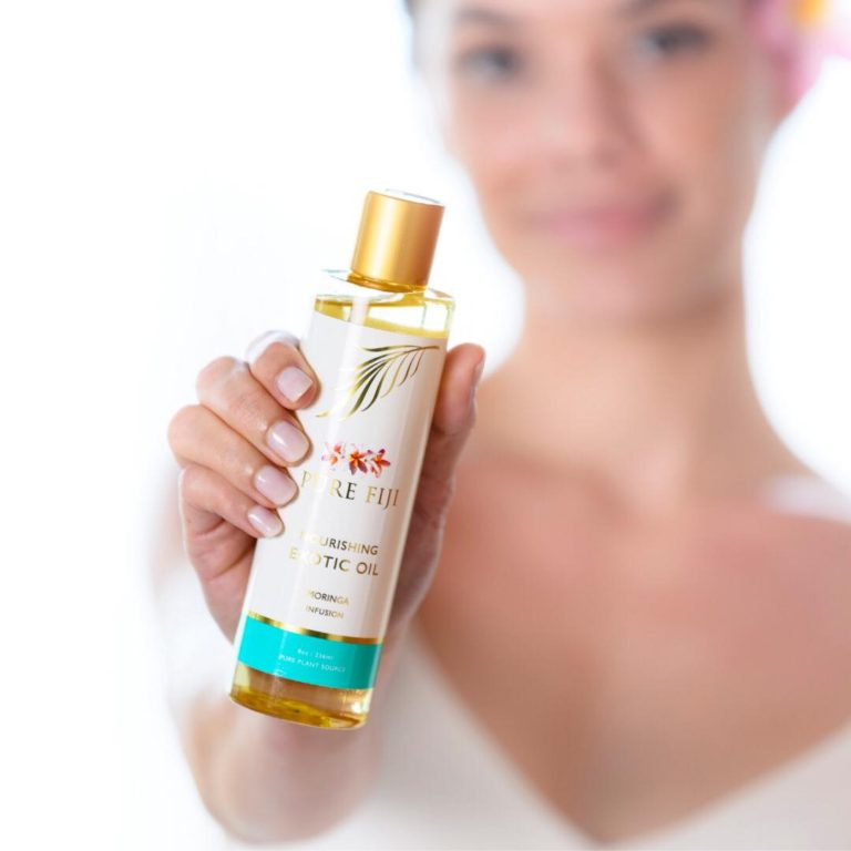 V for hair and Beauty Pure Fiji Multi Purpose Exotic Oil