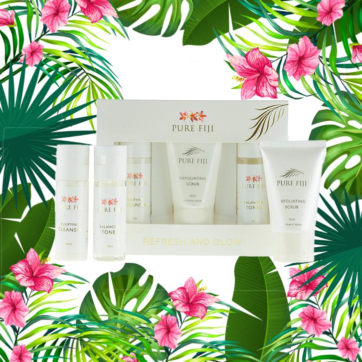 Pure Fiji Refresh and Glow Facial kit