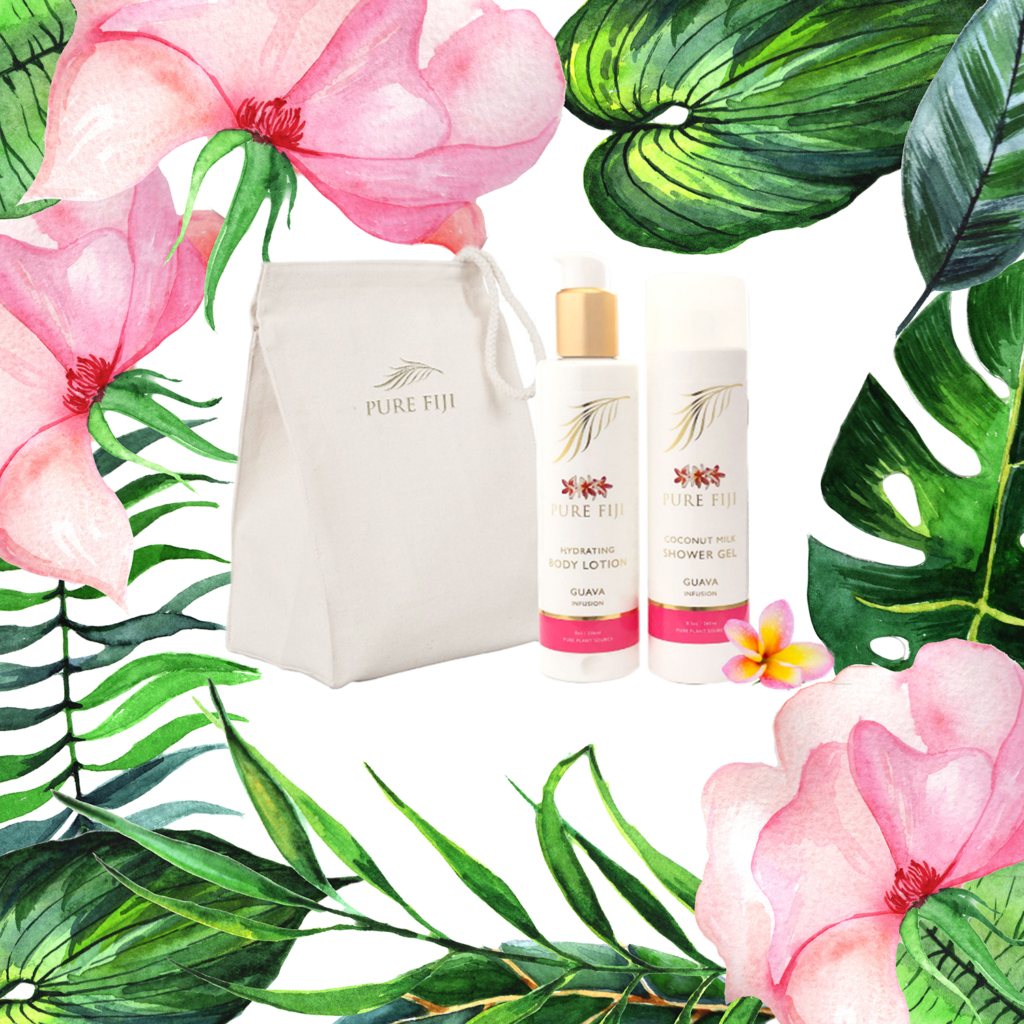 Pure Fiji Bath & Body Kit