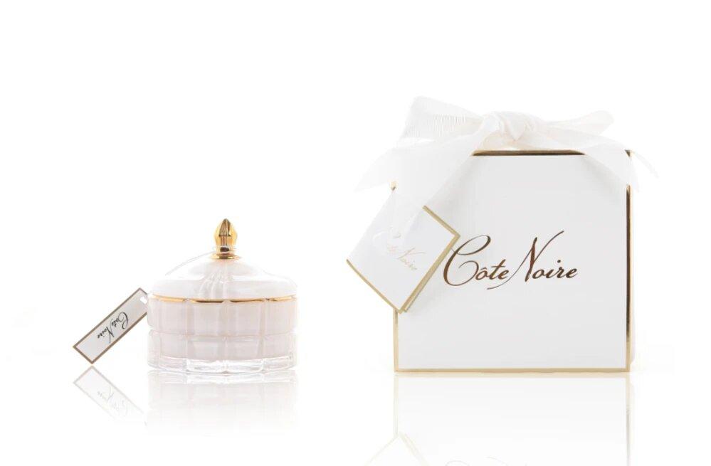 Cote Noire Art Deco White Candle