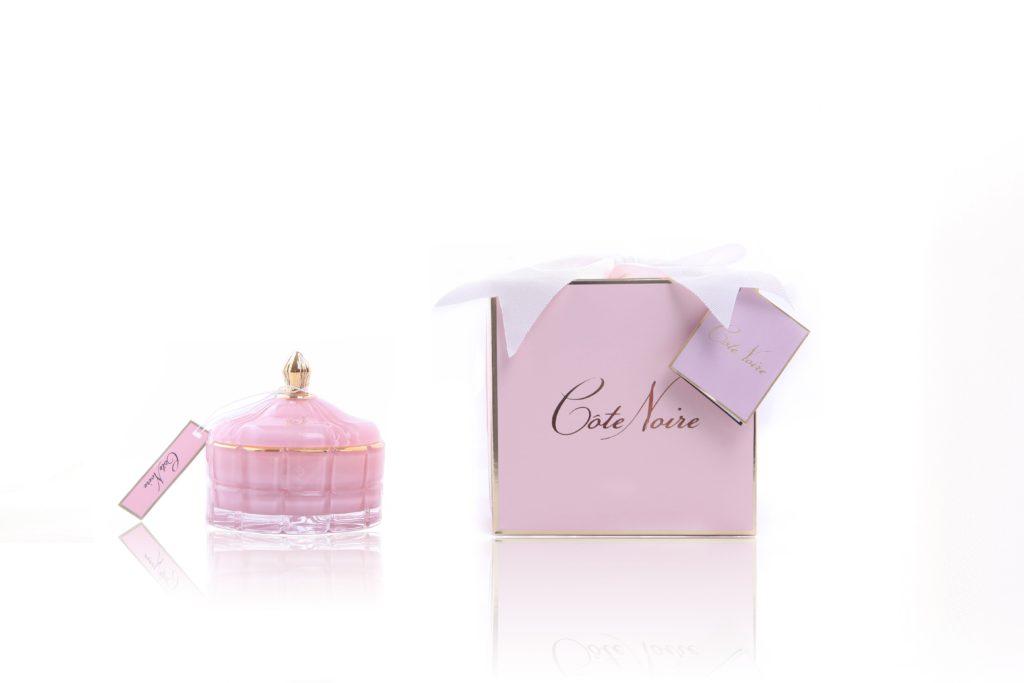 Cote Noire Art Deco Pink Candle