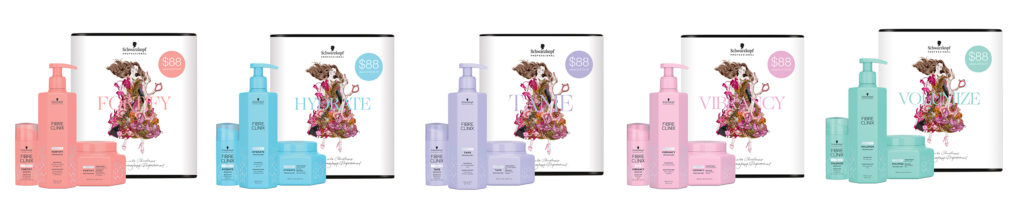 V for Hair and Beauty Schwarzkopf All Fibre Clinix Pack