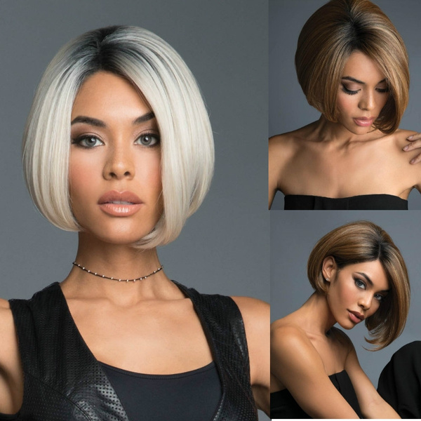 Coloured Hair Style and Trend Short Haircut