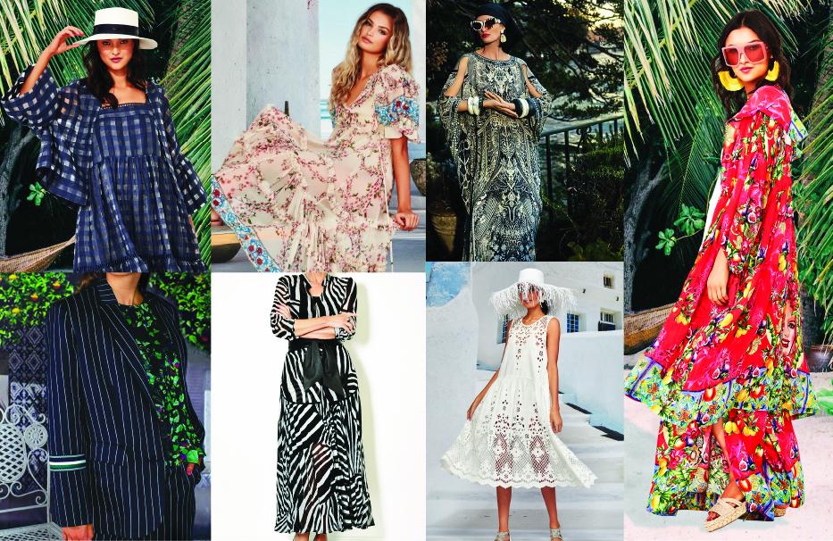 Summer Fashion Clothing of Camilla, Paula Ryan and Trelise Cooper