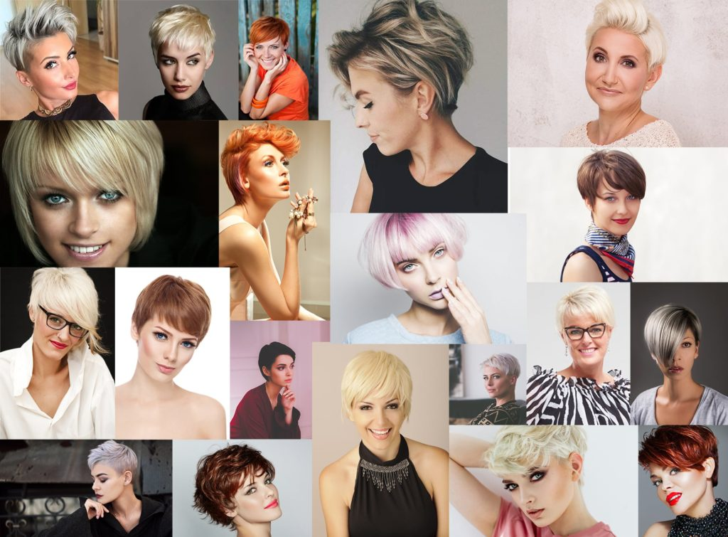 Summer short and colored hair style inspiration for every age