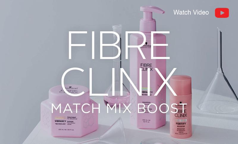 Match max boost Fibre Clinix in-salon service