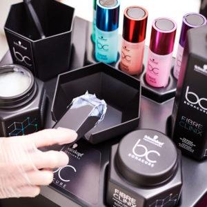 BC Fibre Clinix Boosters usage at salon