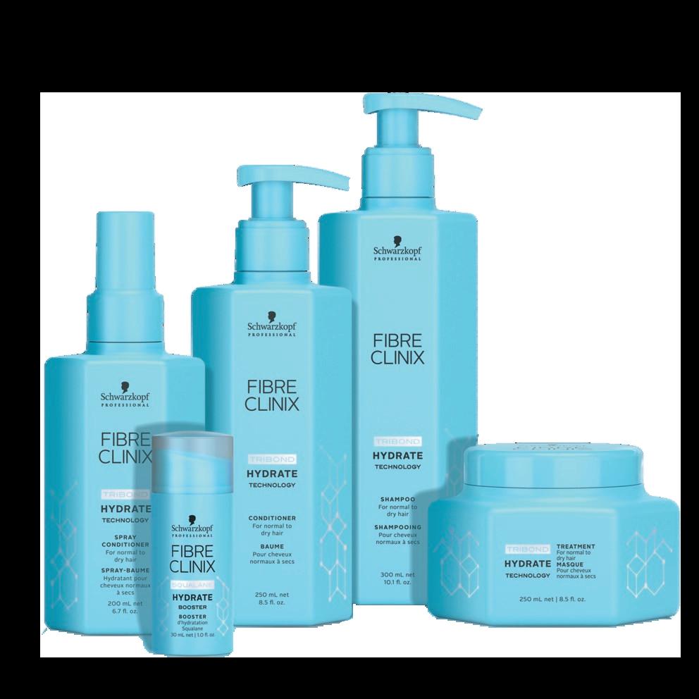 Schwarzkopf Fibre Clinix Hydrate Products