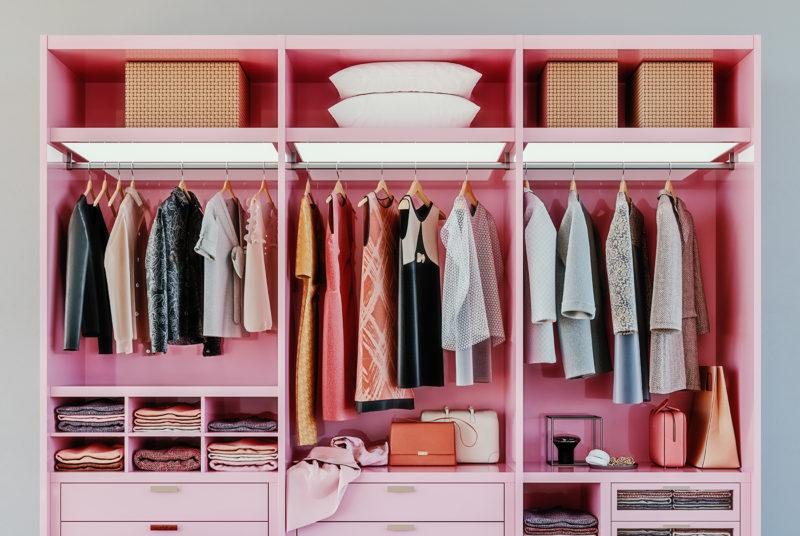 Beautifully Organized Wardrobe