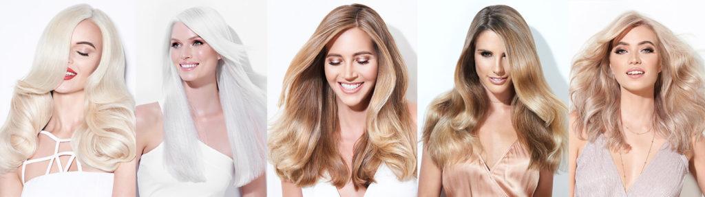 BlondMe models