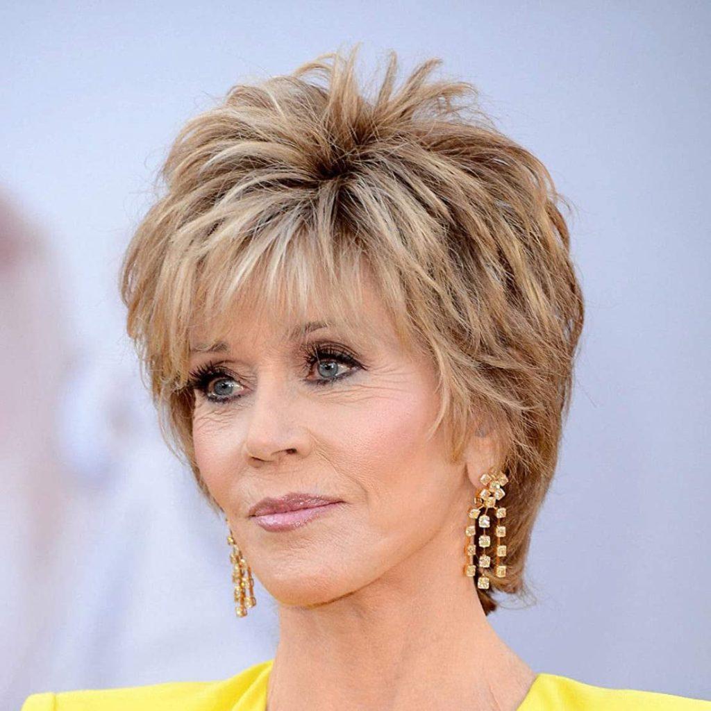 Blonde Jane Fonda