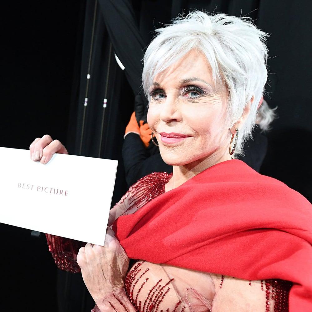 Jane Fonda dull Grey
