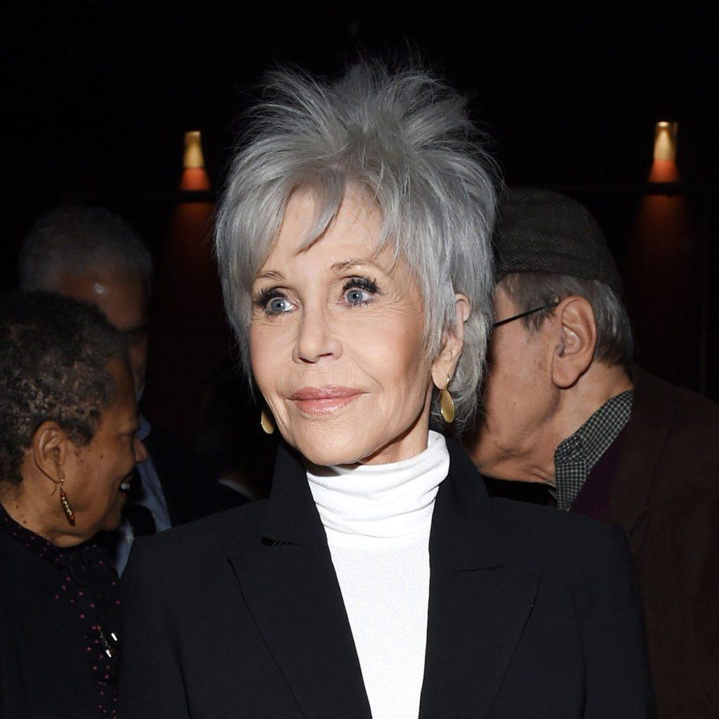 Cool toned Jane Fonda