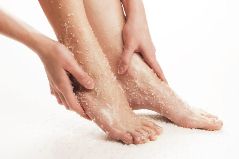 Foot exfoliation