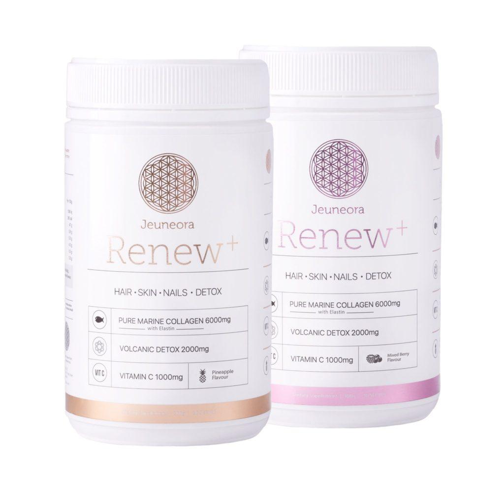 Jeunera renew hair skin nails detox V for hair and beauty