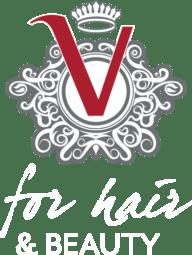 V for Hair and Beauty logo