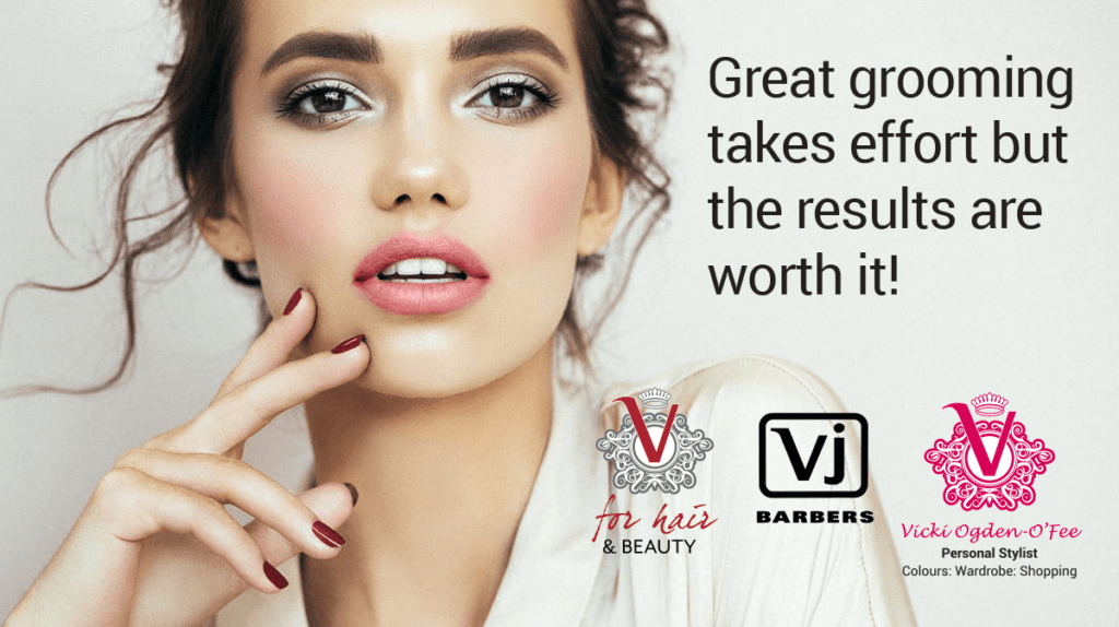 V for Hair Great grooming takes effort quote