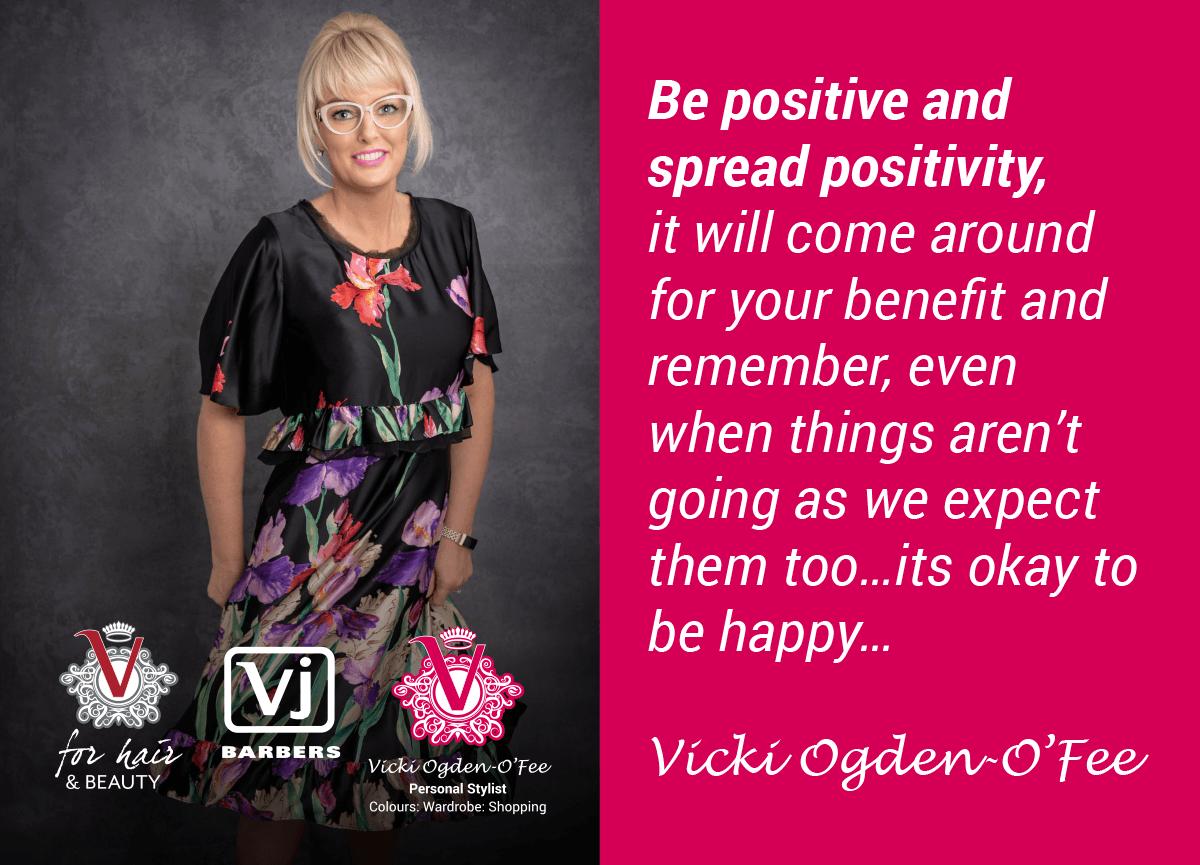 Vicki quote positivity