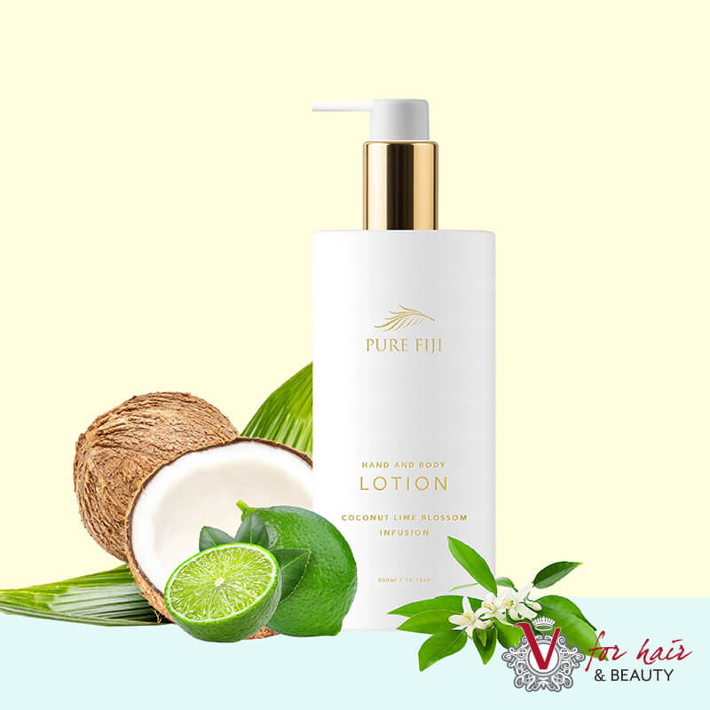 Pure Fiji Vanity Hand coconut lime lotion