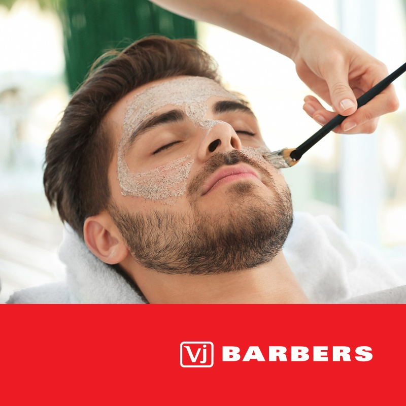 Vj Barbers - men's haircut and facial treatment