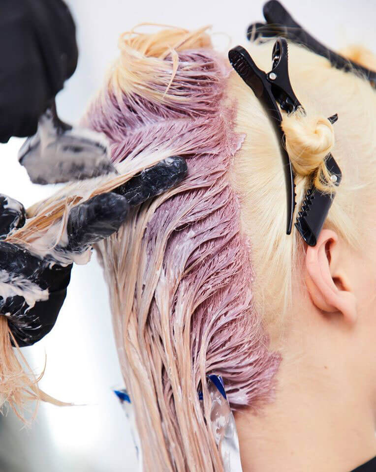 Colouring our hair
