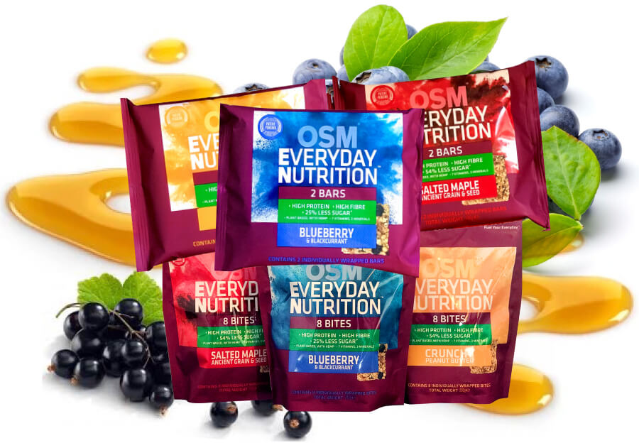 OSM - Everyday Nutrition Bars and Bites