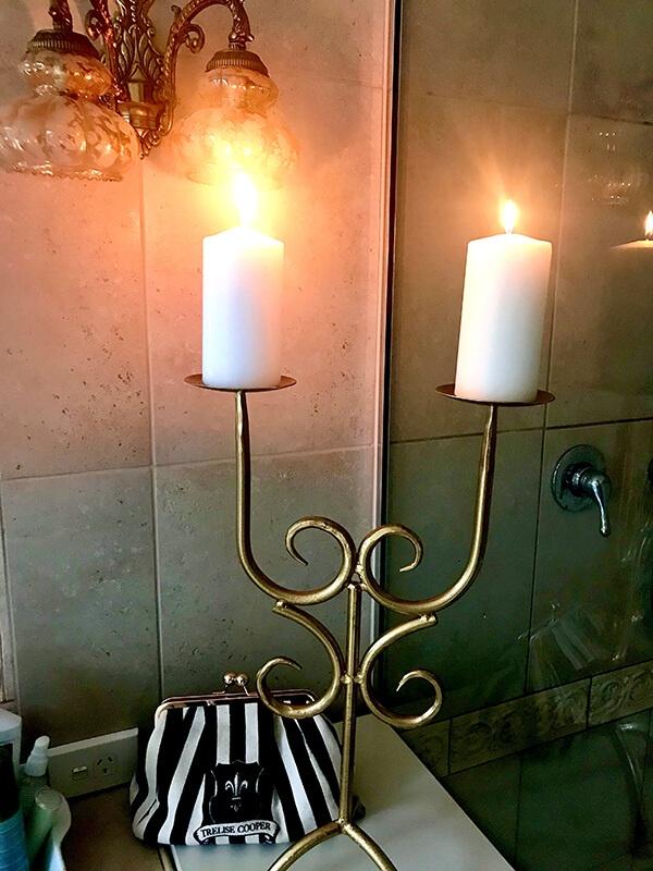 Candle older after coloured