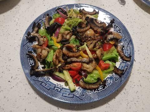 Daniel paua home made dish